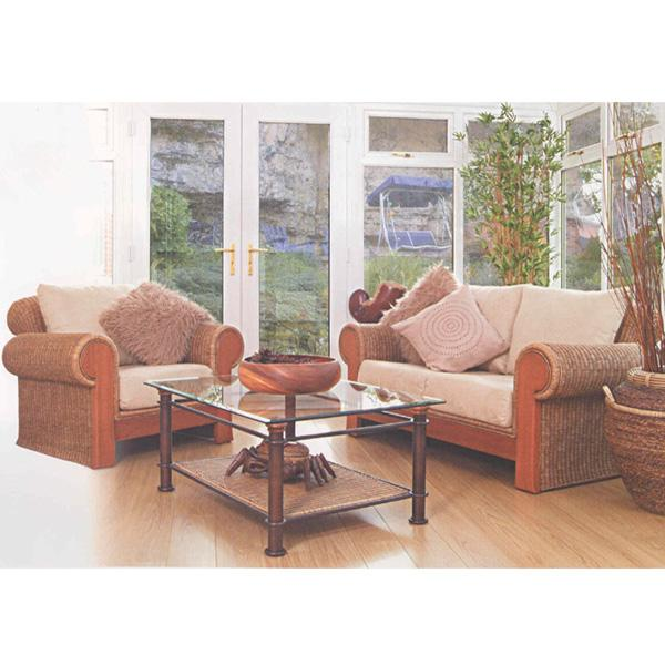 Wicker Living Room Set