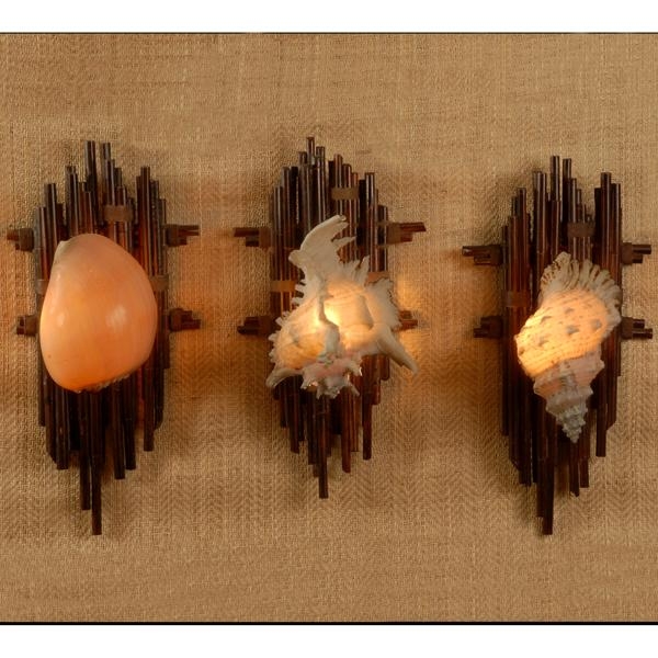 Shell Wall Sconce